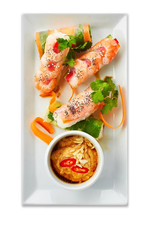 Blue Earth Foods seafood dish