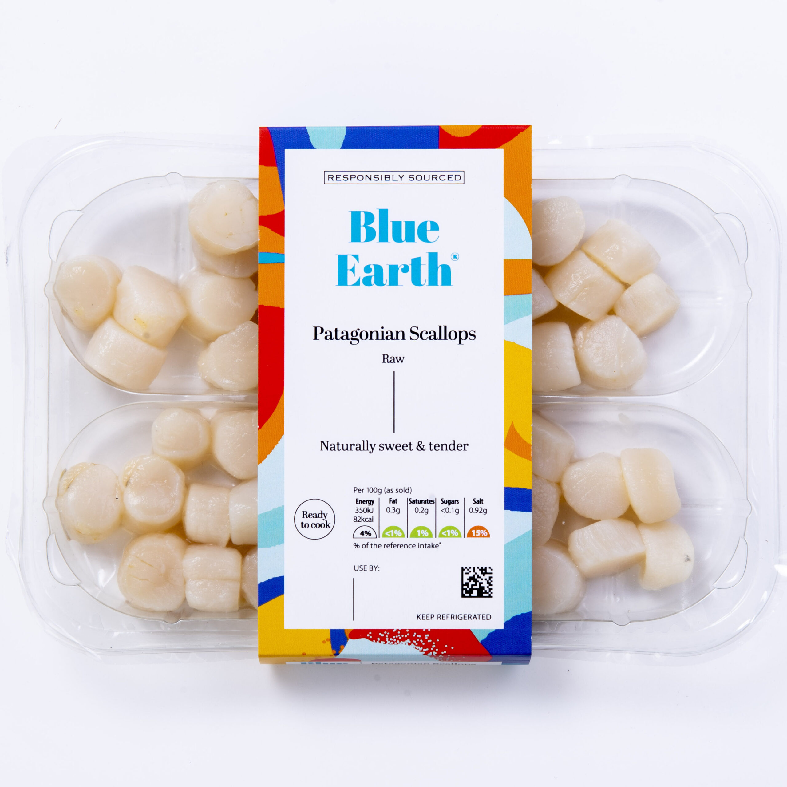 Blue Earth Foods Our Products Raw Patagonian Scallops