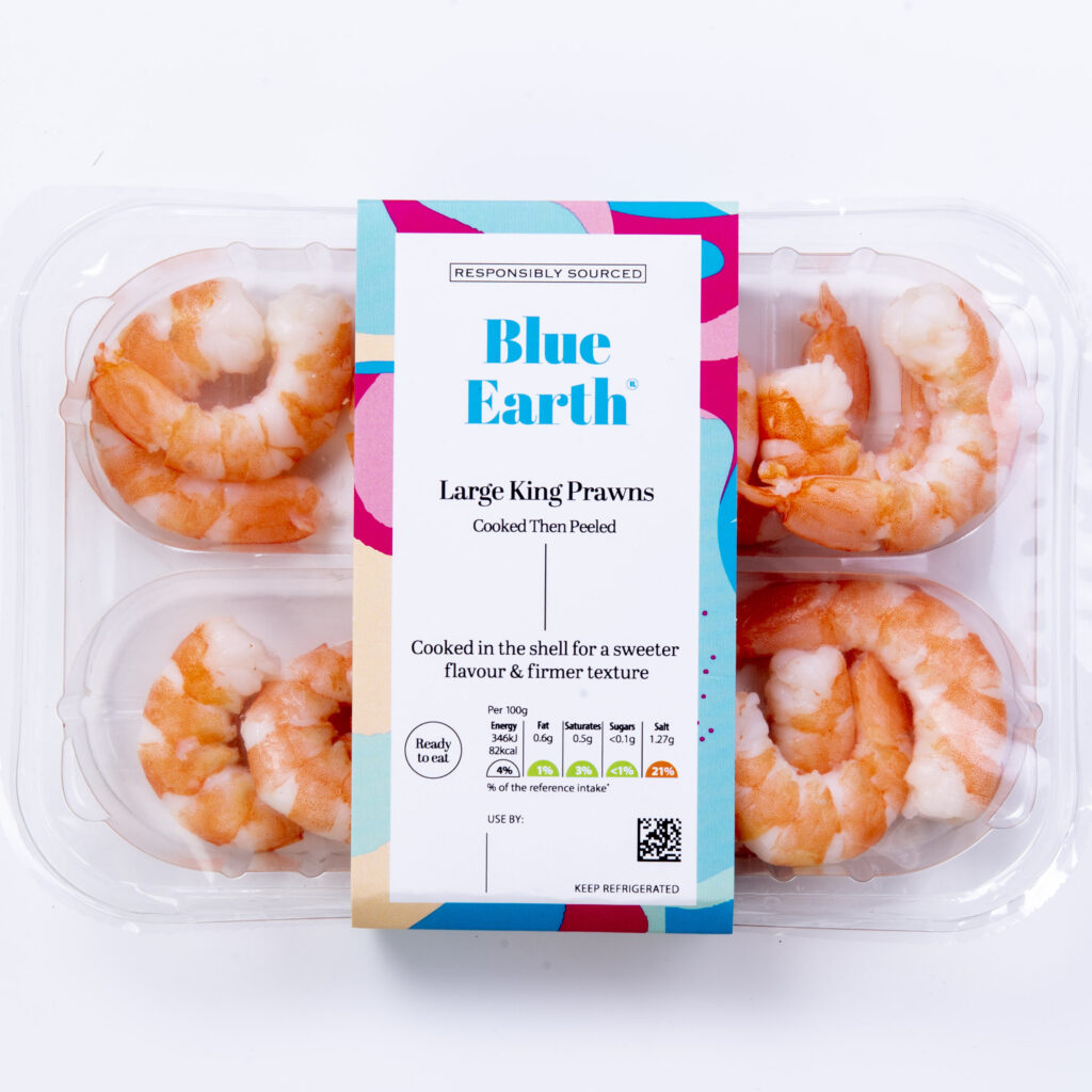 Blue Earth Foods Our Products Large King Prawns
