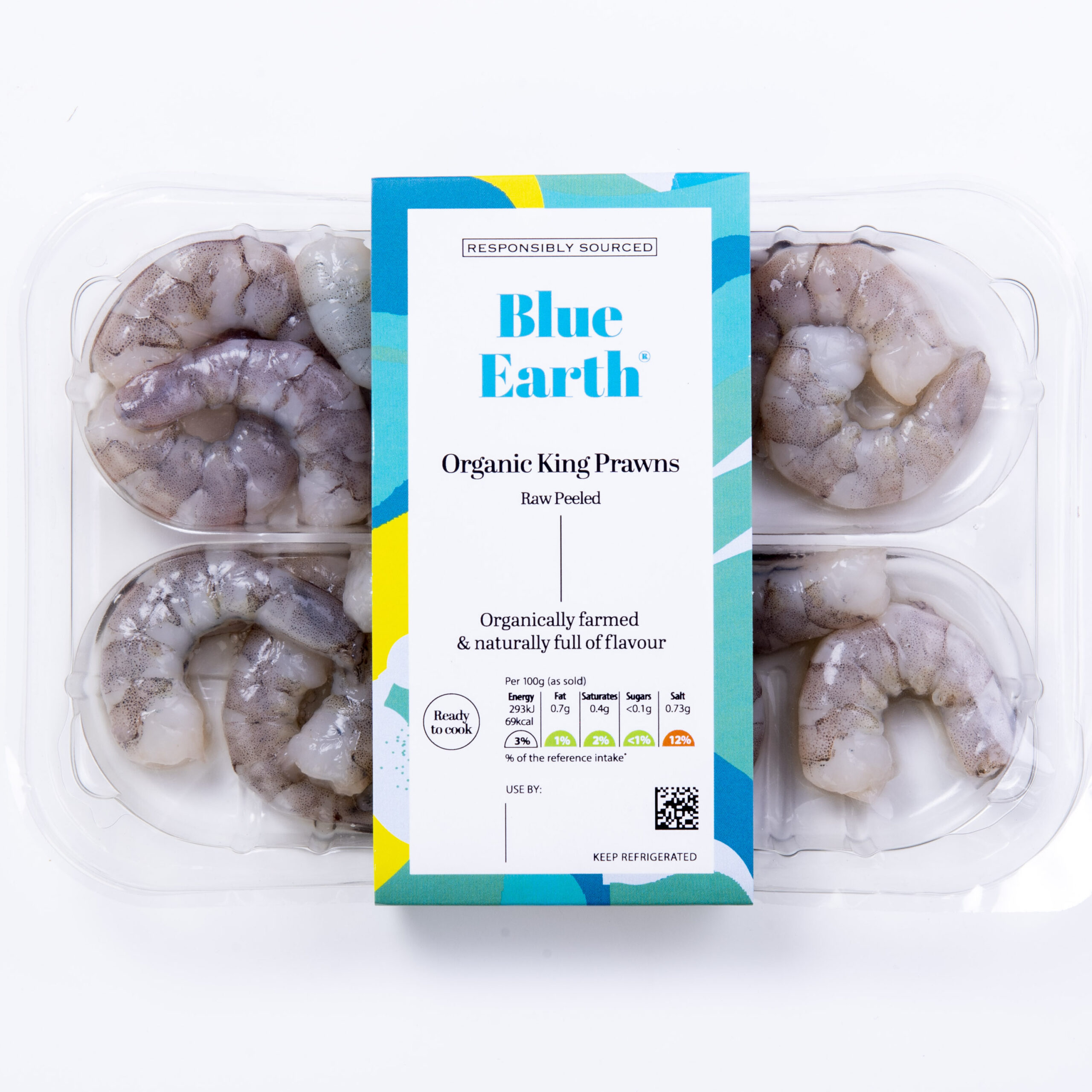 Blue Earth Foods Our Products Organic King Prawns