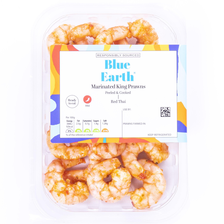 Blue Earth Red Thai Prawns