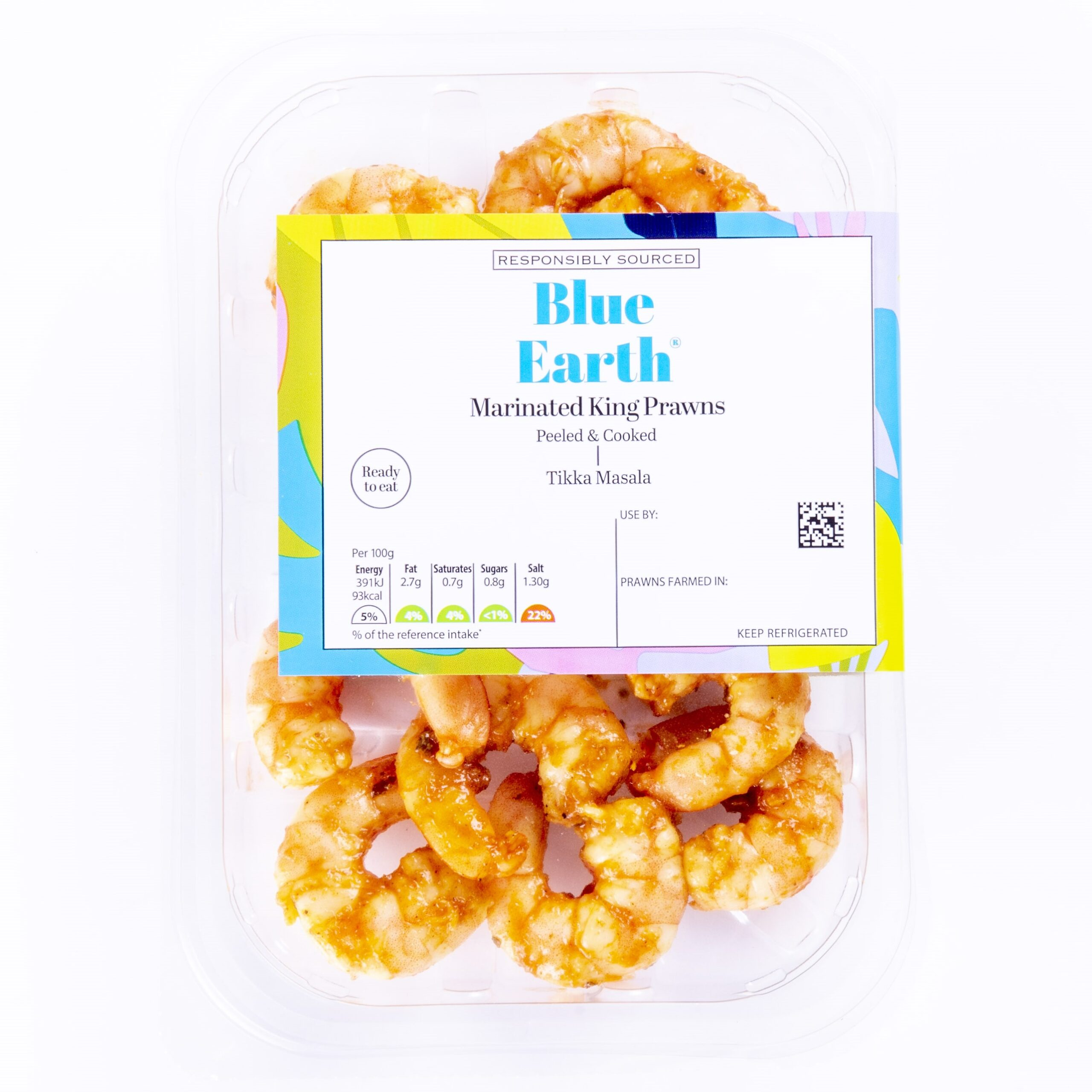 Blue Earth Tikka Masala Prawns
